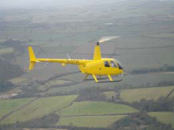 Helicopter filming from the air service from Helinorth