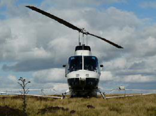 Helinorth Helicopter aerial seeding
