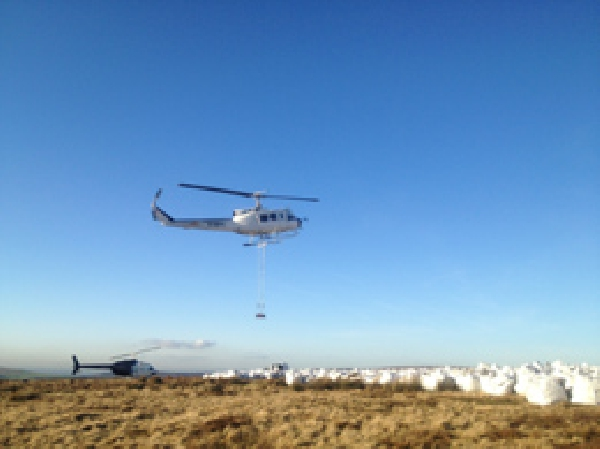 Helinorth helicopter load lifting service