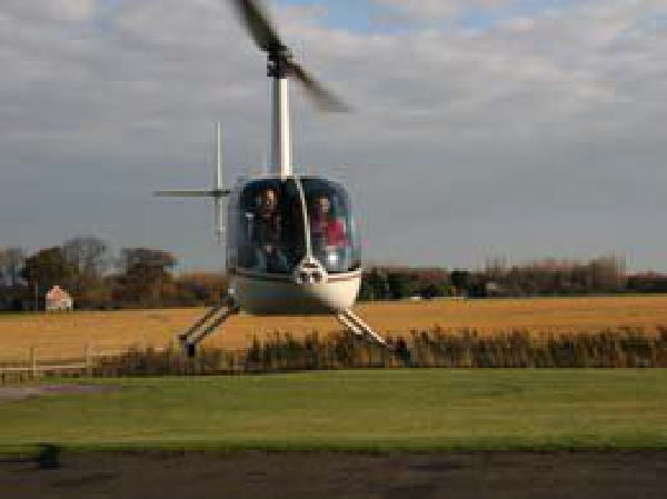Helinorth Helicopter PPL Training - take off