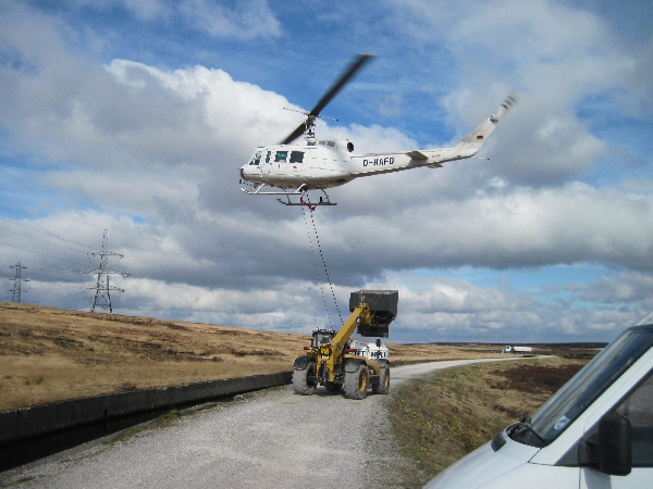 Helinorth Aerial lime spreading service