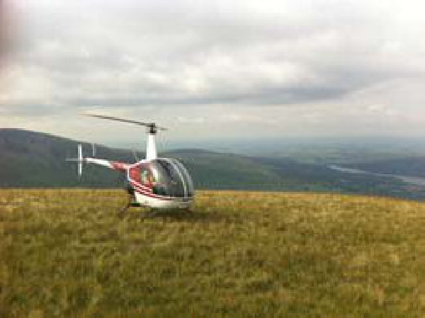 Helinorth Helicopter PPL Training - remote landing