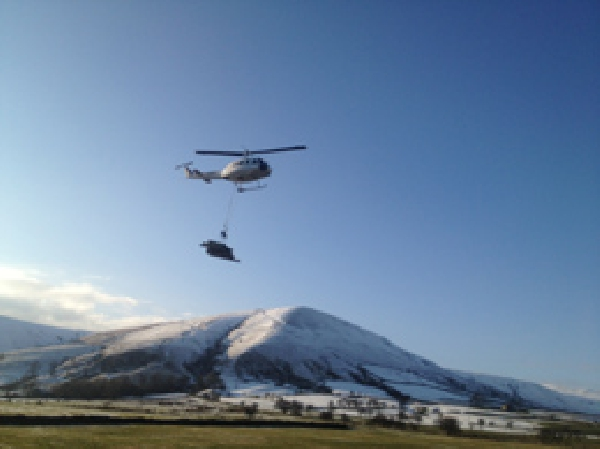 Helinorth for Aerial load lifting in remote locations